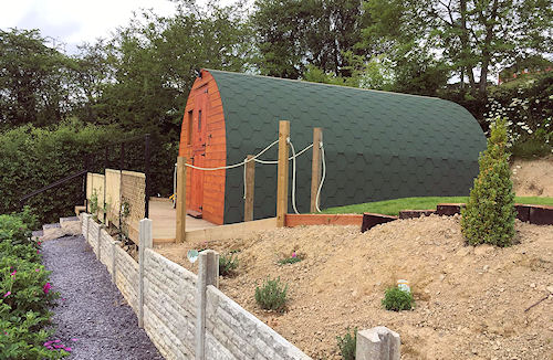 Banwy Glamping Pods - Pods for Sale and Hire